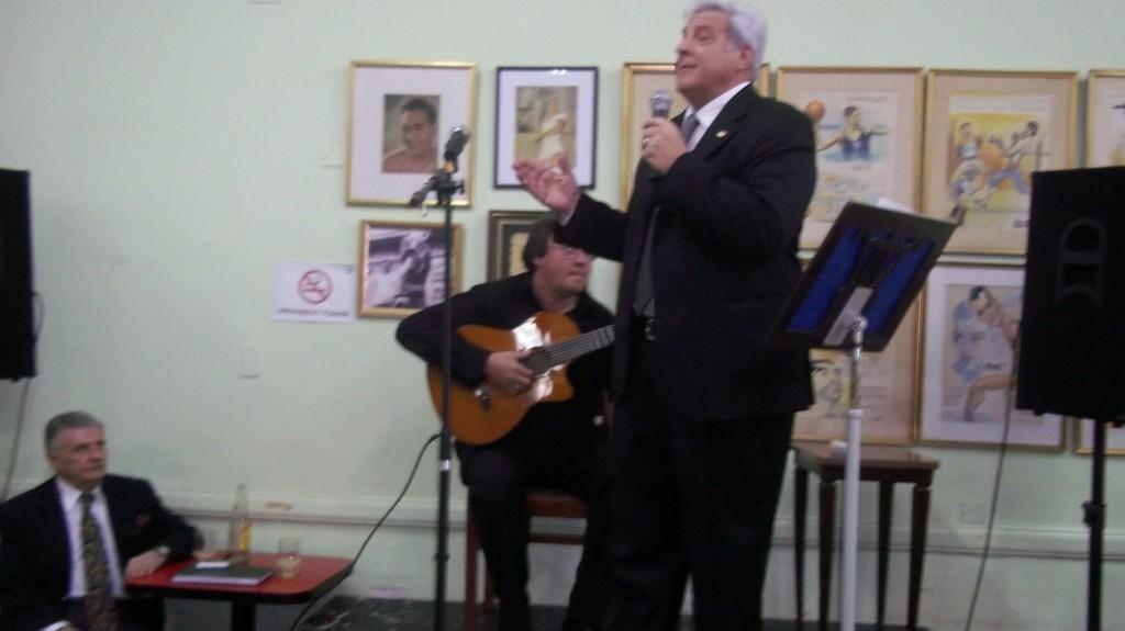 Peña de Tango Geba, 120 personas en la 4ª, el Pasado 9 de Septiembre (Enrique Carmona)