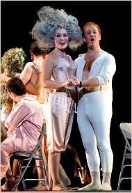 "[Peter DaSilva] Scene from the Berkeley production of ""King Arthur."""