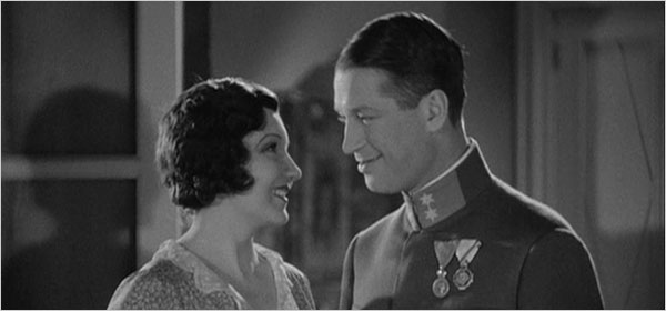 "[Eclipse] The Lubitsch touch: Claudette Colbert and Maurice Chevalier in ""The Smiling Lieutenant."""