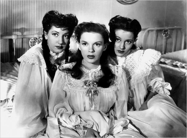 "[Photo: Film Forum/Photofest] Ms. Charisse, right, was still playing minor roles when she appeared in the 1946 musical ""The Harvey Girls"" with Judy Garland, center, and Virginia O'Brien."