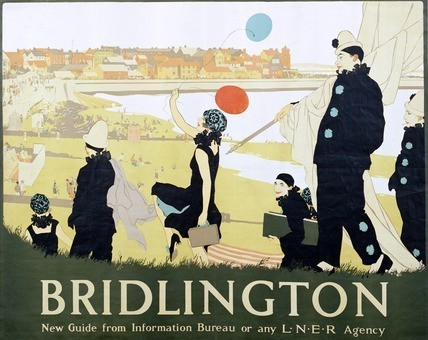Bridlington, by R.E. Higgins (1877-1933). Poster. England, early 20th century.