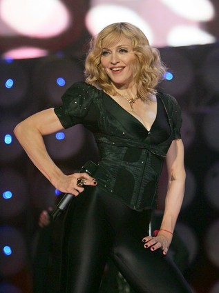 [AFP/Getty Images)] Madonna: Reinvention, or just savvy?