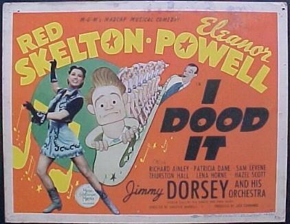 I DOOD IT Movie Poster (1943)