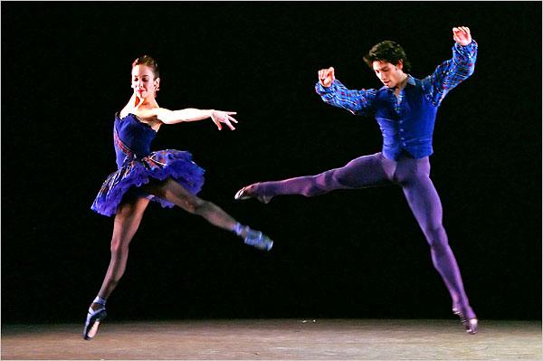 "[Photo: Andrea Mohin/The New York Times]Xiomara Reyes and Herman Cornejo in ""Brief Fling."""