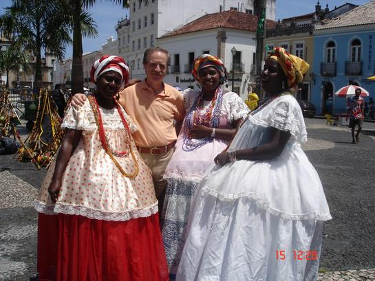 Ariel Lichtig y Damas Bahianas