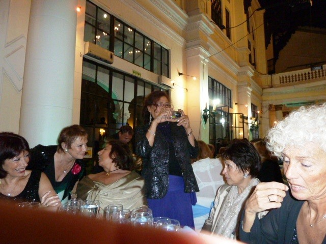 Beatriz, Adelma, Inés, Julia, Rita, Adriana