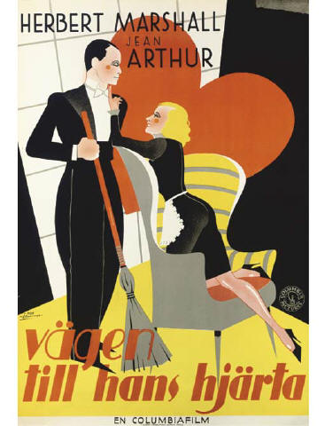Vintage Film PostersChristies, Sale 4910September 27, 2006London, South KensingtonIf You Could Only Cook Vägen Till Hans Hjärta1935, Columbia, Swedish -- 39x27in. (99x69cm.), (A)Art by Moje Aslund250-350 British pounds