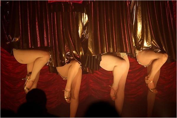 "[Photo: Justin Bernhaut] A scene from ""C'est Duckie!"" at the Clemente Soto Vélez Cultural Center."