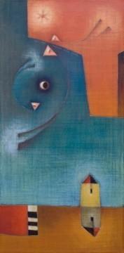 Antonia Guzmán<br>El Engaño<br>80 x 40 cm