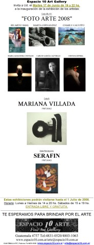 FotoArte 2008 (Cristina Rivera)