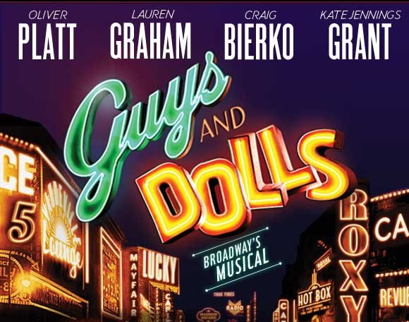 Guys and Dolls on February 3rd