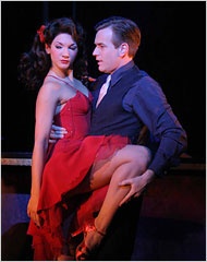 """[Alastair Muir]Summer Strallen and Ewan McGregor in the revival of """"Guys and Dolls"""" in London. Plans to transfer this production to Broadway have stalled."""