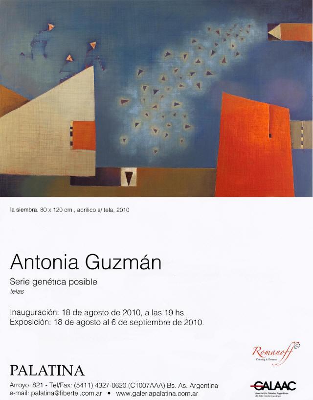 Antonia Guzmán Serie genética posible