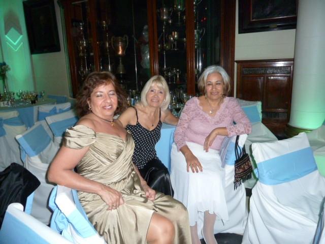 Inés Araujo, Mónica Cataldo, Hilda Reinoso