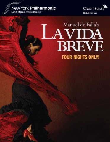 In this colorful production direct from Spain, Manuel de Falla's fiery love story comes alive with the New York Philharmonic, flamenco dance, the National Chorus of Spain, and an all-star cast. The concert begins with Albéniz's brilliant Suite española.