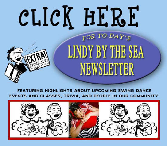 Lindy By The Sea Newsletter