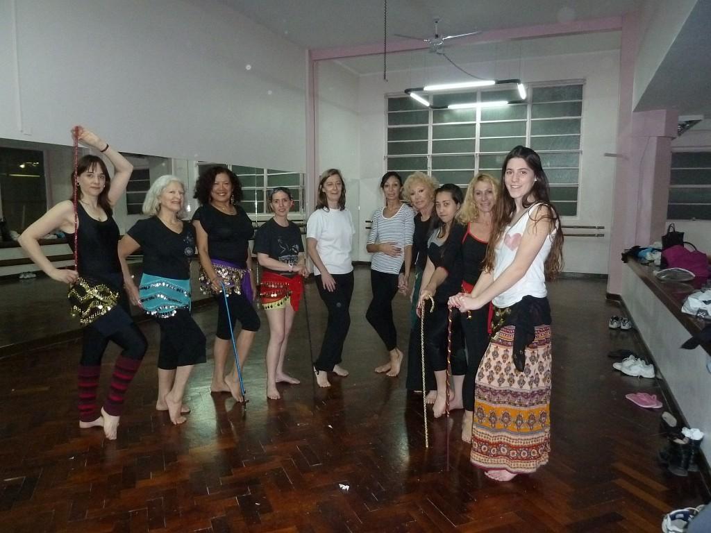 Danza Árabe en Geba (Graciela Lovarvo)