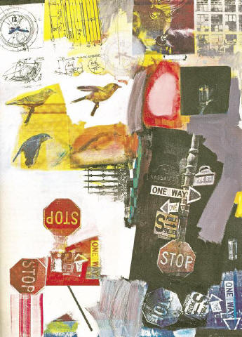 [SOTHEBY'S] TO BID FAREWELL The late Robert Rauschenberg's 'Overdrive' (1963) will be sold tonight in the sale of Contemporary art at Sotheby's. For results of last night's auction at Christie's, please see page 15.