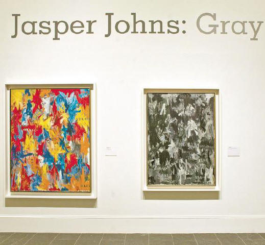 [KONRAD FIEDLER]NOT SO BLACK AND WHITE The Metropolitan Museum of Art installed the upcoming exhibit 'Jasper Johns: Gray' yesterday. Opening on February 5, the show explores the artist's use of gray in more than 120 works — some of which have never been exhibited before.