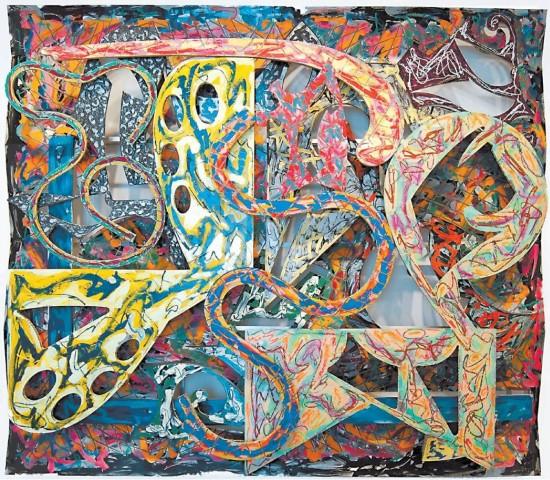 [PAUL KASMIN GALLERY]Frank Stella, 'Talladega' (1980).UntilSeptember6(293TenthAve. at West 27th Street, 212-563-4474).