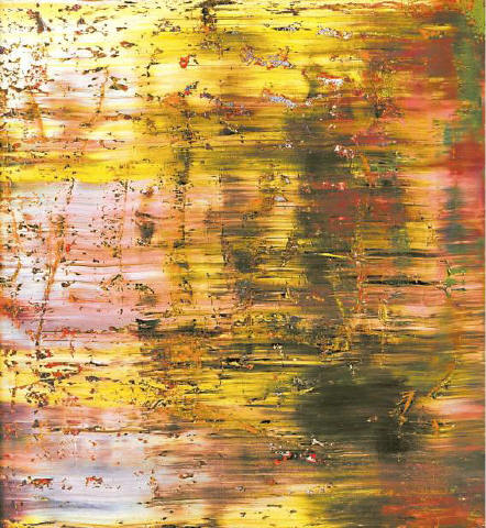 [SOTHEBY'S] A HIT ON THE RICHTER SCALE Gerhard Richter's 'Abstraktes Bild' (1990), sold yesterday for $15,161,000 (including a buyer's premium) during Sotheby's sale of Contemporary art.