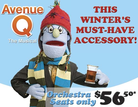 Avenue Q at the Golden Theatre, NYC