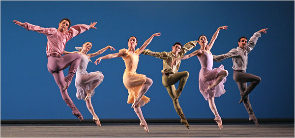"[Dee Conway] The Royal Ballet performed ""Dances at a Gathering"" at the Royal Opera House, Covent Garden."