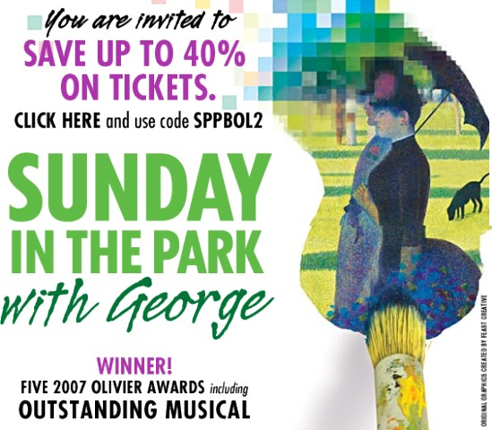 Sunday in the Park with George at Studio 54, NYC