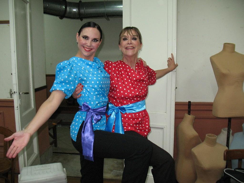 Backstage Teatro del Globo, Jueves 08 Diciembre 2011 [Foto Malena Musante]