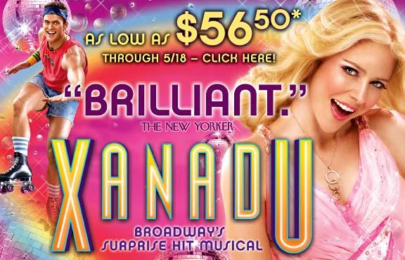 Xanadu on Broadway