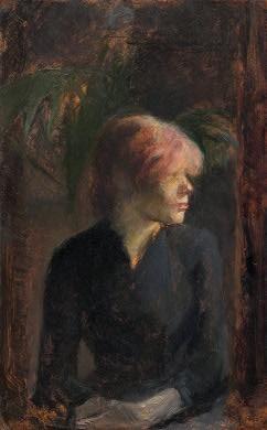 Henri de Toulouse-Lautrec Carmen Gaudin, 1885 Ailsa Mellon Bruce Collection 1970.17.85
