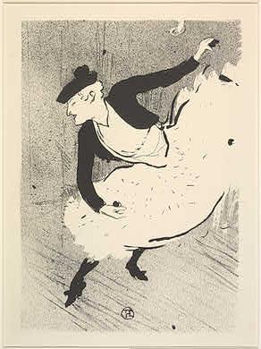 Henri de Toulouse-Lautrec French, 1864 - 1901 Edmée Lescot, 1893 Rosenwald Collection 1947.7.165