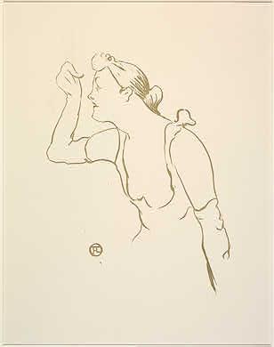 Henri de Toulouse-Lautrec Paula Brébion, 1893 Rosenwald Collection 1947.7.171