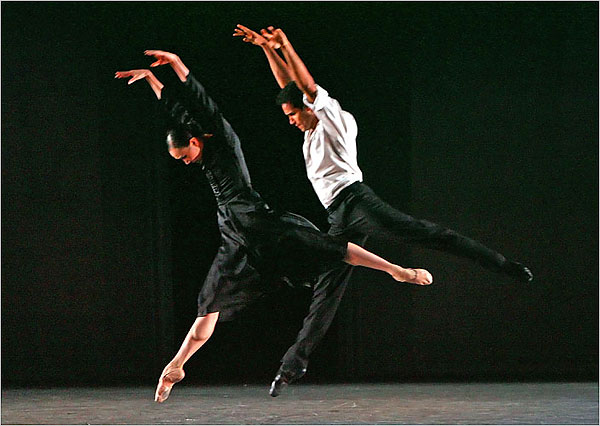 "[Photo: Andrea Mohin/The New York Times] Jose Manuel Carreño and Hee Seo in ""Overgrown Path."""