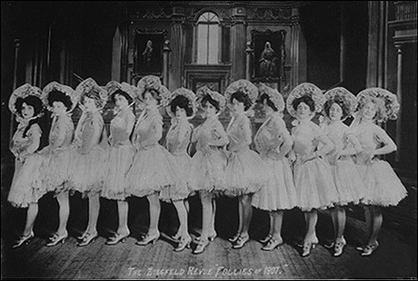 [Photo Courtesy of the New York Public Library] June 8, 1907: The Ziegfeld Follies