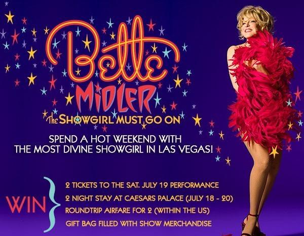 Bette Midler, The Showgirl Must Go On