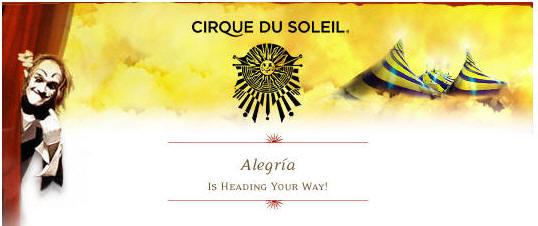Cirque du Soleil celebra el regreso a Buenos Aires con Alegría