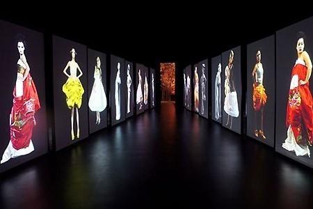 [D.R.]Wang Gongxing. Synchronisation. Installation vidéo (13×11 m).