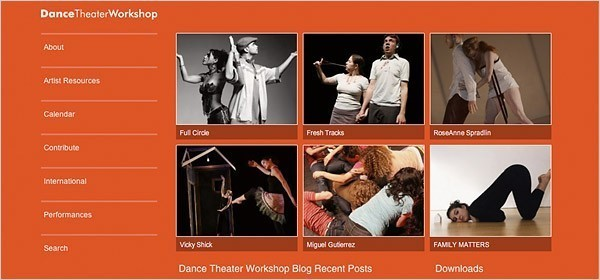 Dance Theater Workshop rolled out the first phase of its new Web site in September.