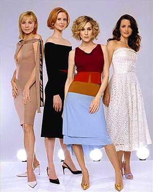 Las cuatro protagonistas de 'Sexo en Nueva York', en una imagen promocional de la serie.