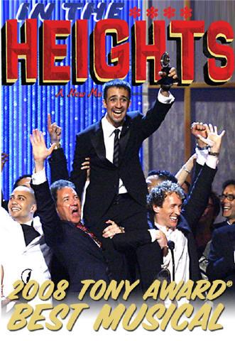 HEIGHTS 2008 TONY AWARD BEST MUSICAL