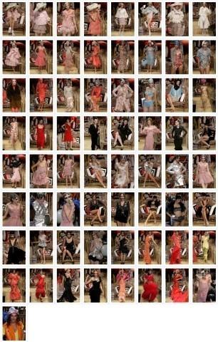 Défilé John Galliano, Printemps-été, 2008, Prêt-à-porter