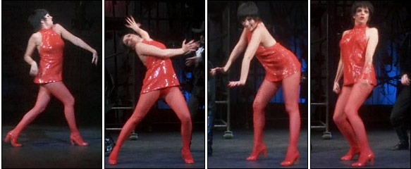 "Liza Minnelli in her 1972 television special ""Liza With a 'Z,' "" which will be shown next month on Showtime"