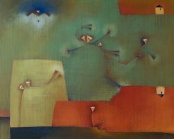 Antonia Guzmán<br>Los Demandantes<br>80 x 100 cm