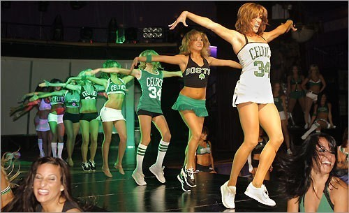 [Evan Richman/Globe Staff]Last night was the final auditions following earlier tryouts that involved more than 200 women who wanted to wear a Celtics dancing uniform.This was the third annual Celtics Dance team tryouts. Only 39 of those 200 actually made it to the finals.