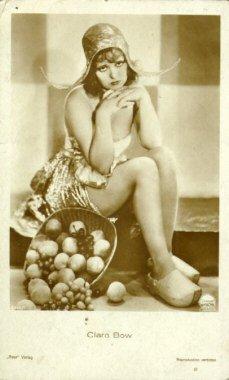 Clara Bow (con esplín)