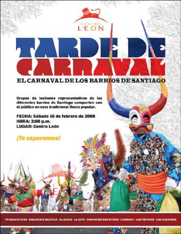 El Carnaval de los Barrios de Santiago, República Dominicana