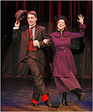 "[Carol Rosegg] Shonn Wiley and Karen Murphy in ""My Vaudeville Man!"""